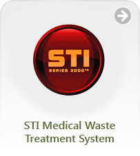 STI Medical Waste Treatment System